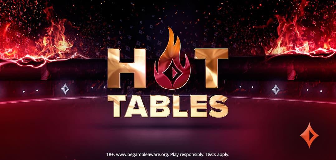 За 5 дней на partypoker было запущено 27 тысяч Hot Tables!